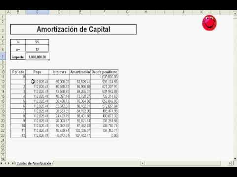 calculo de pagos por prestamo en excel de YouTube · Duración:  4 minutos 8 segundos