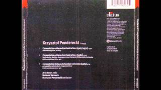 Krzysztof Penderecki - Complete Cello Concertos