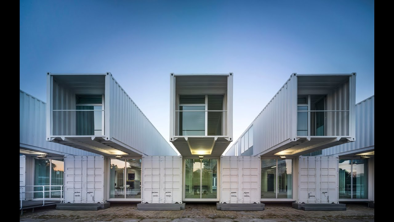 Terminal de cruceros estaci n mar tima de sevilla - Arquitectura contenedores maritimos ...