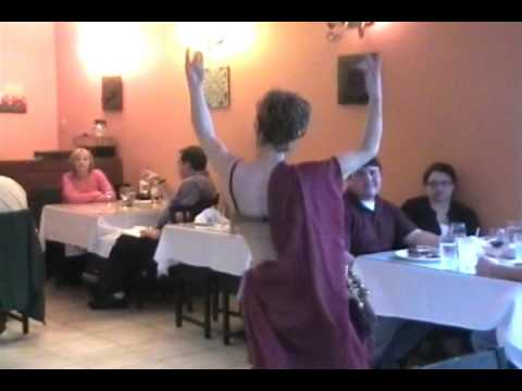 Lorelie Belly Dance at Jule's Mediterranean Cuisine in Monroe Connecticut