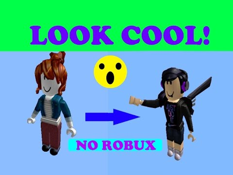 How To Look Cool Without Robux Girl Version Tips Look Good In Roblox No Robux Girls Youtube