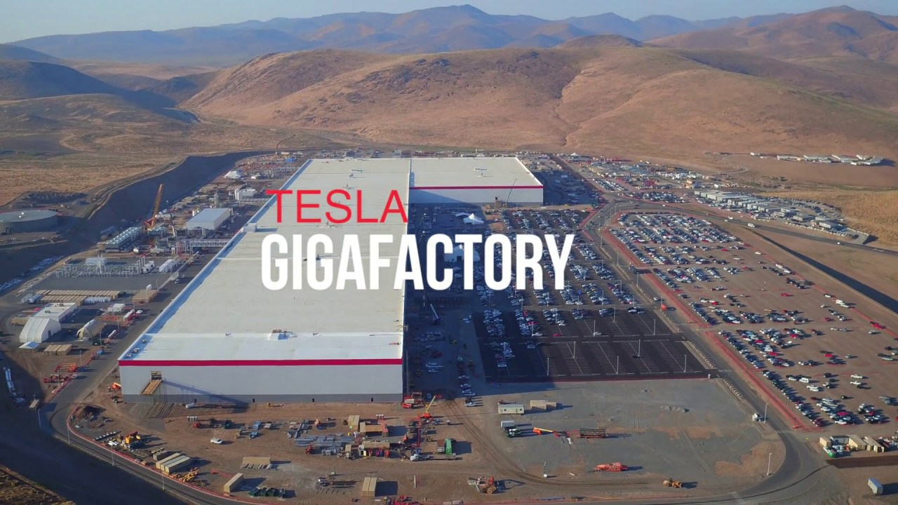 Tesla Gigafactory August 2017 Aerial Construction Update
