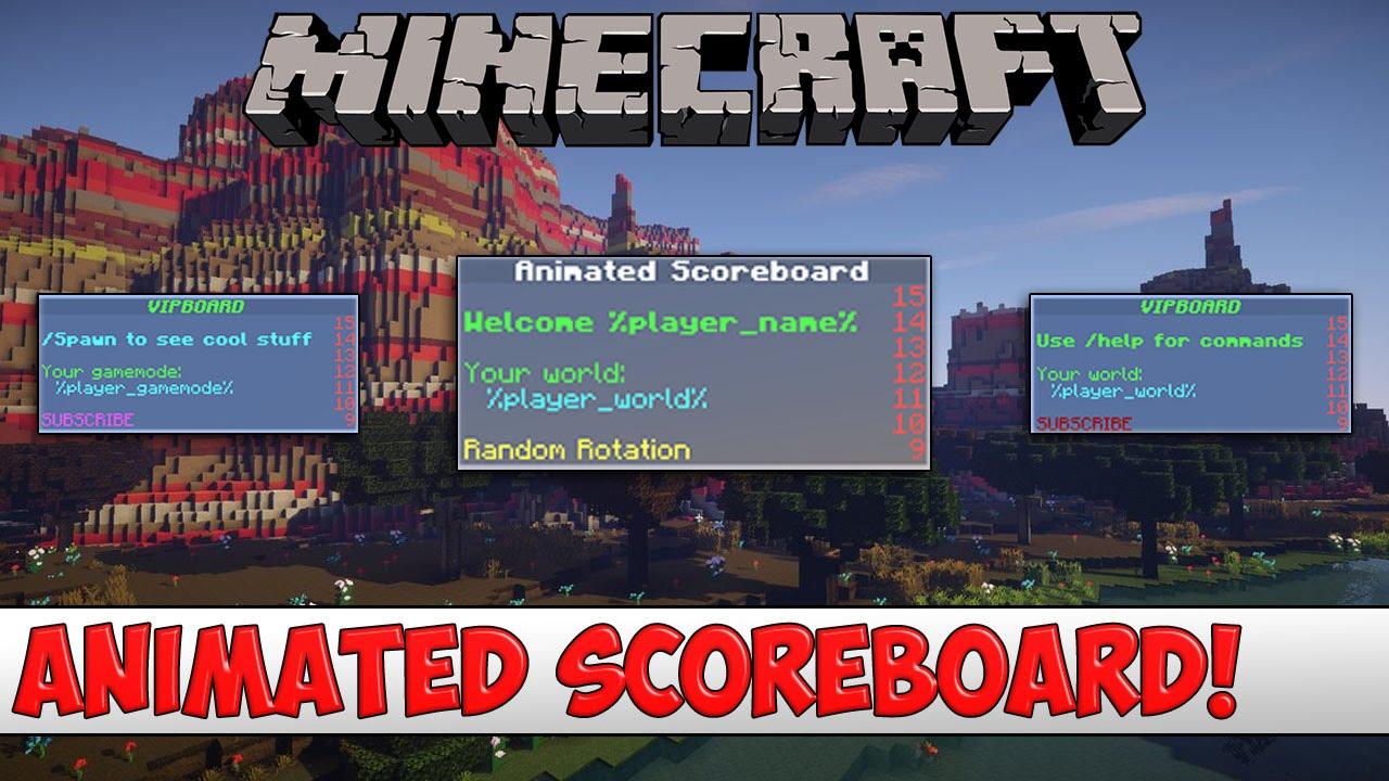 AnimatedScoreboard | SpigotMC - High Performance Minecraft