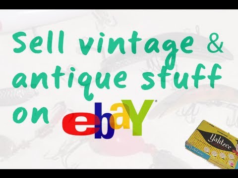 How to Make Money Selling Vintage/Antique Items on eBay - Summer 2013 Haul