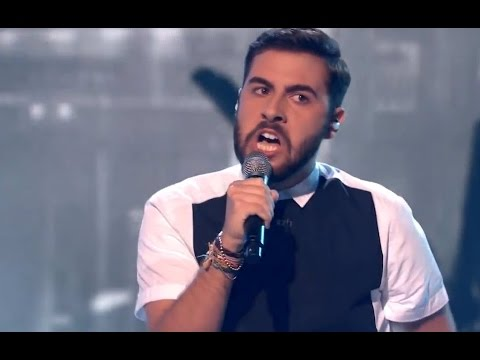 """Andrea Faustini - VOCAL OF THE NIGHT! - """"Earth Song"""" - The X Factor UK"""
