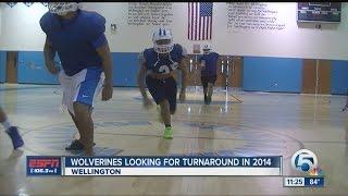 Wellington football looking for turnaround 2014 season