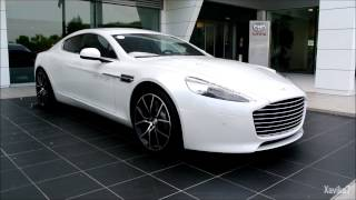 Pearl White Aston Martin Rapide S | Loud Start-up - Accelerations - Combo - Review