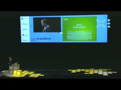 re:publica 2011 - Peter Sunde - After one year of flattr on YouTube