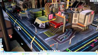 SimCity Cities of Tomorrow Developer Gameplay Walkthrough Video