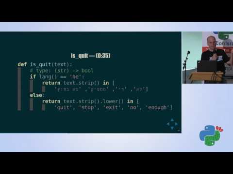 Unit testing in the real world with mock - Chen Rotem Levy - Pycon Israel 2017