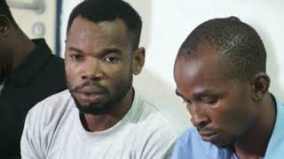 TODAYS NEWS ;NIGERIA POLICE FORCE PARADES 4 SUSPECT  FROM APC TRANSMISSION CONGRESS