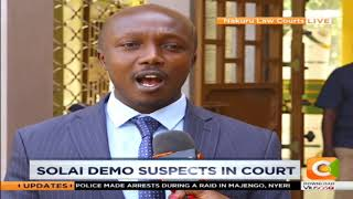 Solai demo suspects arraigned in Nakuru law courts