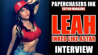 Paperchasers Ink - Tattoo Magazine - Interview with Leah - Issue #1