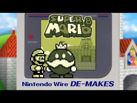 Super Mario 64 On The Game Boy - Game Boy De-Make (Super Mario 8)