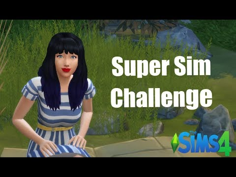 Sims 4 | Super Sim Challenge | Part 77 | Trying to Write A Bestseller?
