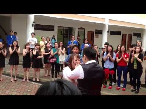 Video Lamaran Pernikahan Wenson & Ida at-UIB (Universitas Internasional Batam)