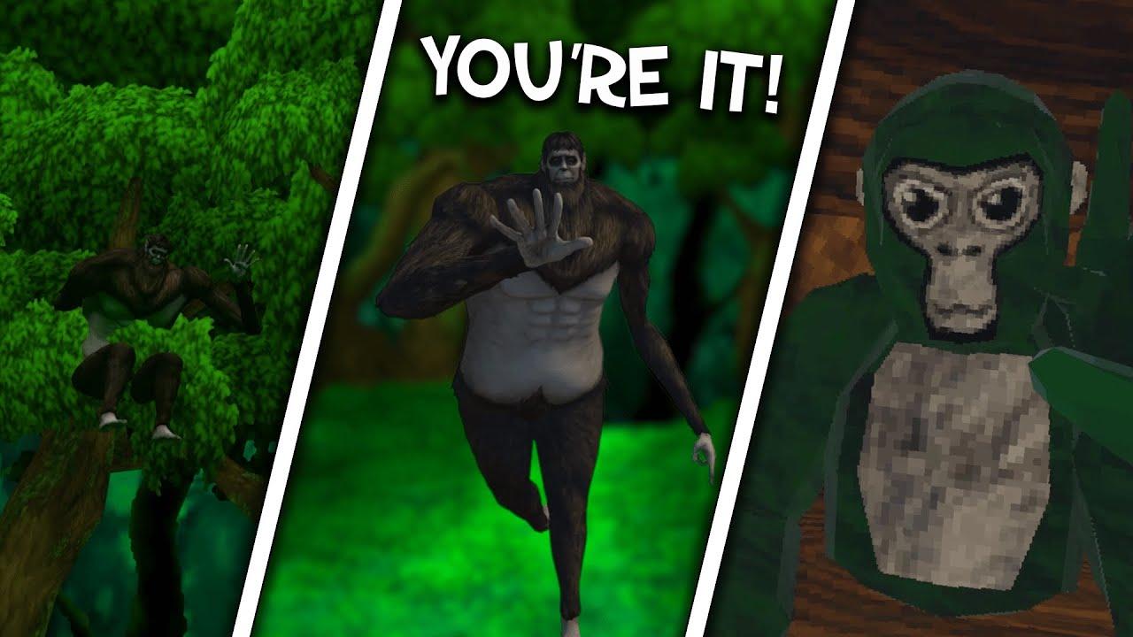 The Beast Titan's play TAG... (Gorilla Tag VR)