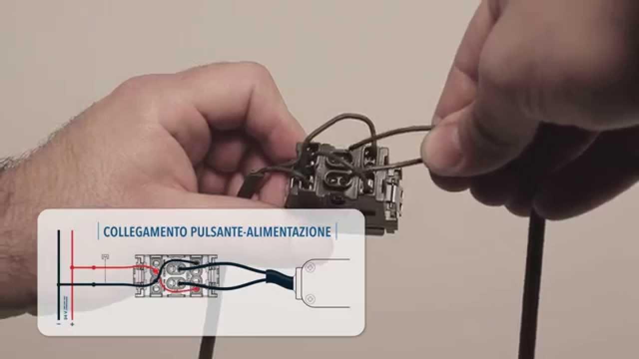 Schema Elettrico Motore Tapparelle : Wicloud: attuatore per apertura motorizzata youtube