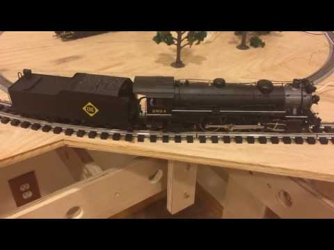 Lionel American Flyer S gauge Erie 4-6-2 with QSI Titan DCC Sound
