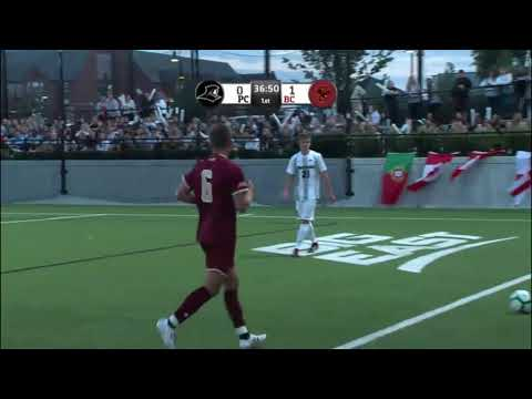 Men's Soccer 08-31-2018 Providence College Vs Boston College