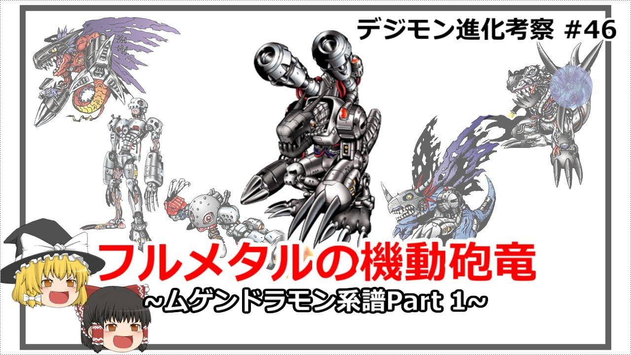 【Digimon】ムゲンドラモン系譜Part 1 - デジモン進化考察#47