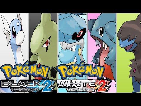 Pokemon Black 2 & White 2 - Dratini,Larvitar,Bagon,Beldum,Gible & Deino Locations