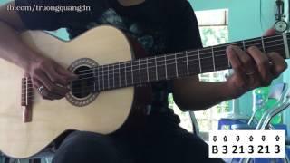 Bài 4: Hướng dẫn đàn Guitar HappyBirthday điệu Boston 3/4