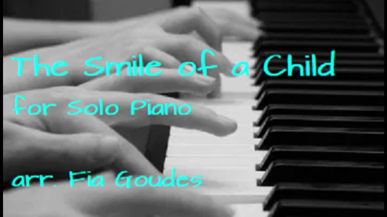 paul reeves the smile of a child ноты для фортепиано