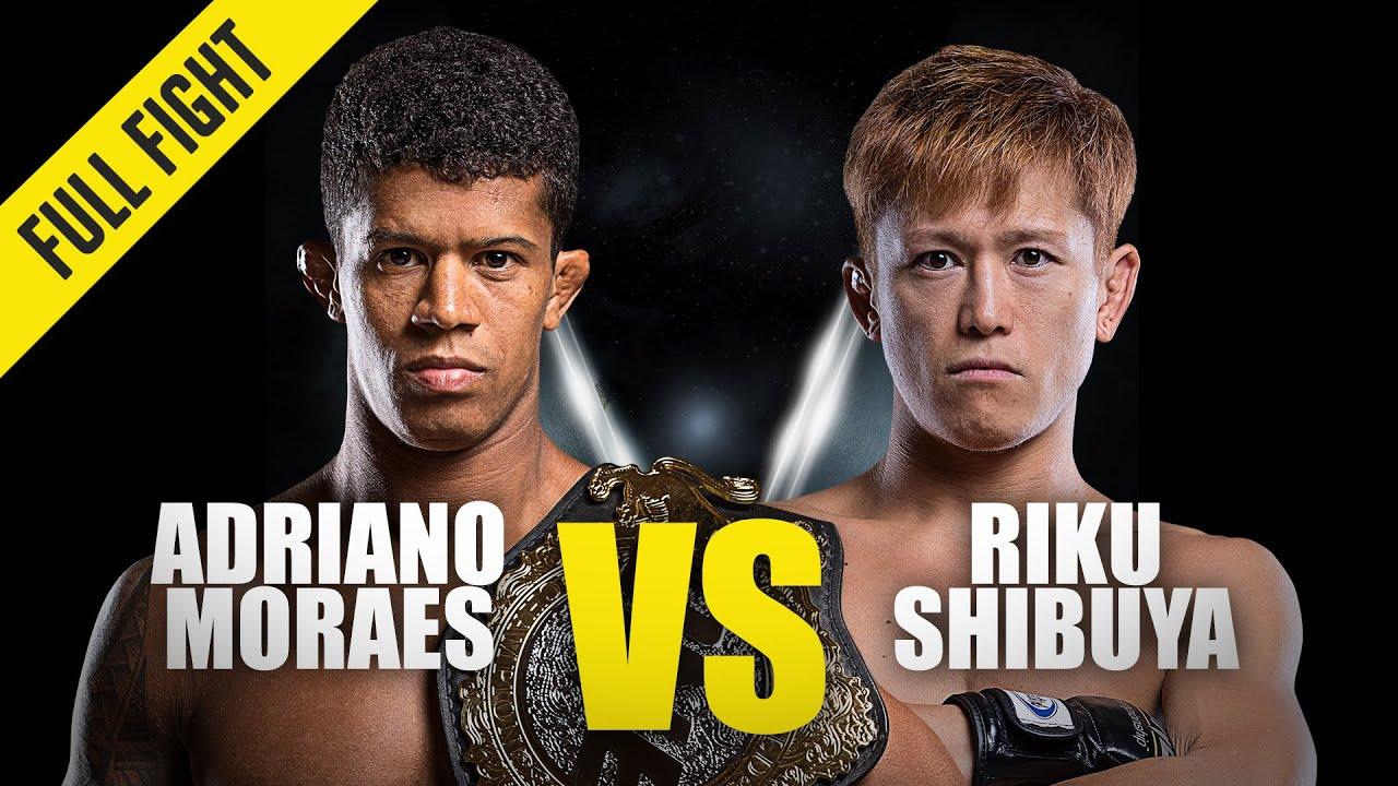Adriano Moraes vs. Riku Shibuya | ONE Championship Full Fight | March 2015