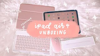 ☁️ ✨ ipad air 4 2020 unboxing + accessories 🦋 | singapore