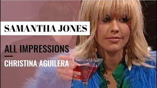 Christina Aguilera All Samantha Jones (Sex And The City) Impressions