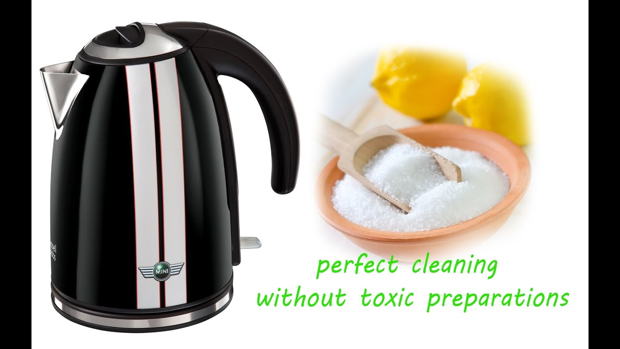 Easy Cleaning with citric acid