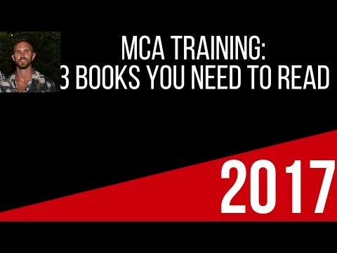 Alex Haney I MCA training Books you need to read ASAP.