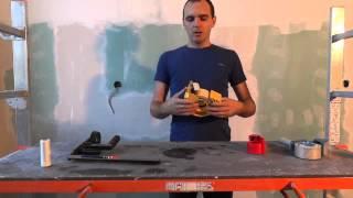 Обзор инструмента для обклейки скотчем и плёнкой стен, потолков, окон, дверей и т.д
