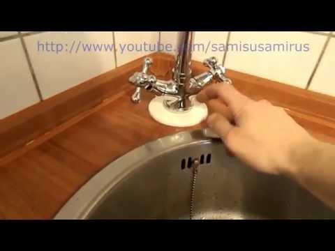 Вопрос: Как в ванной или на кухне заменить смеситель (кран)?
