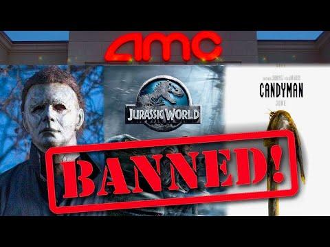 AMC Theatres Just BANNED Halloween Kills, Candyman, Jurassic World 3 & MORE