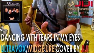 Ultravox/Midge Ure - Dancing With Tears In My Eyes | Acoustic cover by Jiji, the Veg-Italian busker