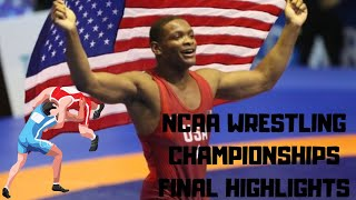 NCAA Wrestling Finals Highlights  2019 Championships  Motivational Videos