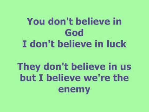 Destroya - Lyrics - My Chemical Romance