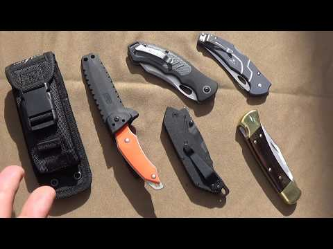 A Look at Great Buck Knives (091, 110,...