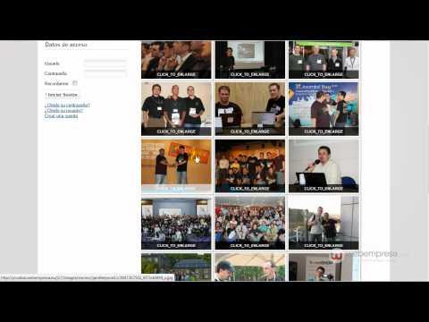 Gestionar  imágenes en Joomla! 1.7 usando el plugin Simple Image Gallery