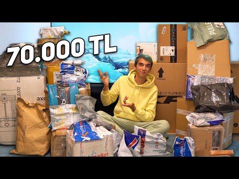 ULTRA ABARTTIM! 70.000 TL Toplu Paket Açılışı!