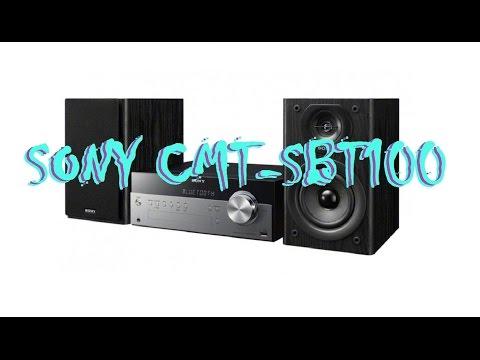 SONY CMT-SBT100 - Bass Test in 4k