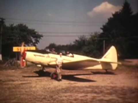 Flying in a PT 19