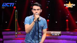 "Made Frendy ""Wild World"" Mr. Big - Rising Star Indonesia Live Audition Eps. 8"