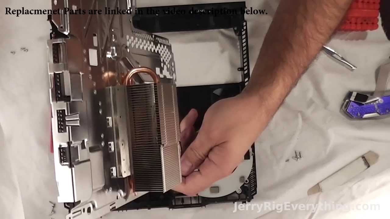 Play Station 4 Repair Video  Hard Drive, Power Supply, Disk Drive, Fan  Cleaning