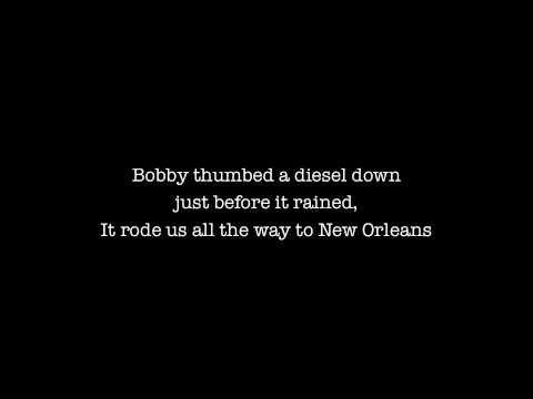 Janis Joplin - Me and Bobby McGee (Lyrics)