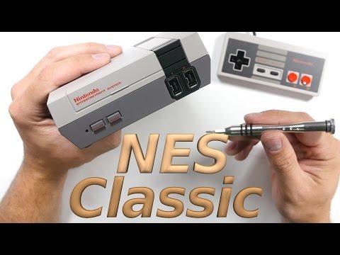 NES Classic Edition - Teardown - Unboxing - Repair Video