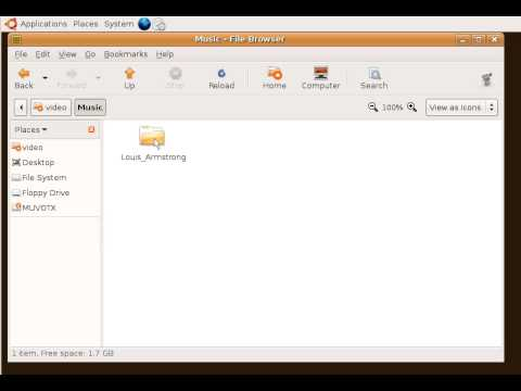 Ubuntu Help - Copy Music To Mp3 Device