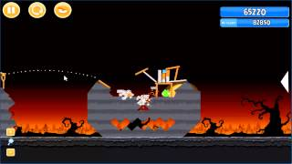 Angry Birds trick or treat 3 Estrellas parte 2-2